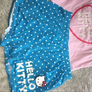 Hello Kitty Short PJ 2 piece